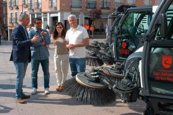 Esta es una de las medidas para la mejora de limpieza que han iniciado en la nueva legislatura, según señalan