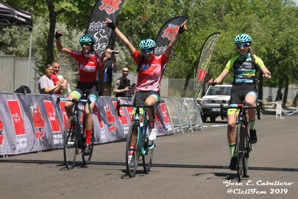 El ciclismo femenino nacional tiene un enorme futuro con deportistas como Celia, Almudena y Carolina