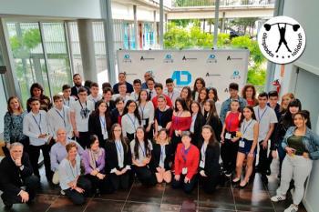 Los alumnos del IES Lázaro Carreter realizaron su presentación en Alcalá Desarrollo