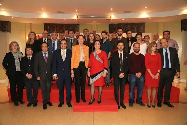 La ministra Reyes Maroto, presente en los VIII premios Ciudad de Leganés