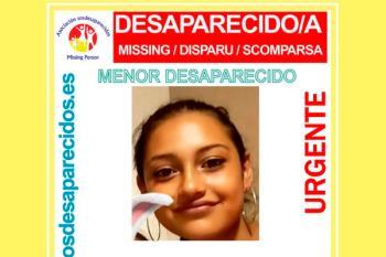 SOS Desaparecidos alerta sobre una menor desaparecida en el municipio de Móstoles