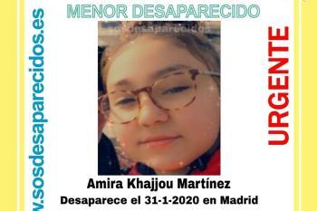 Amira Khajjou desapareció ayer 31 de enero