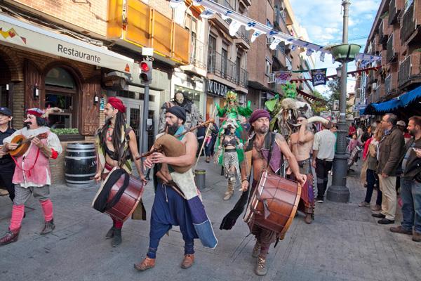 Un año más, los leganenses disfrutaron de su Mercado Medieval