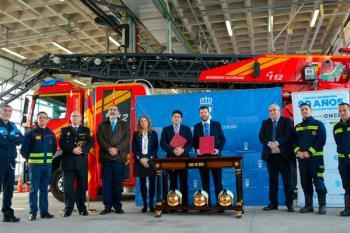 Este acuerdo de colaboración entre el Ayuntamiento de Alcorcón e ILUNION mejorará y ampliará el campo de acción de estos efectivos