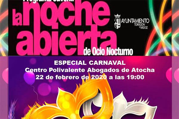 Este sábado 22 de febrero el programa de ocio juvenil celebra el carnaval por todo lo alto