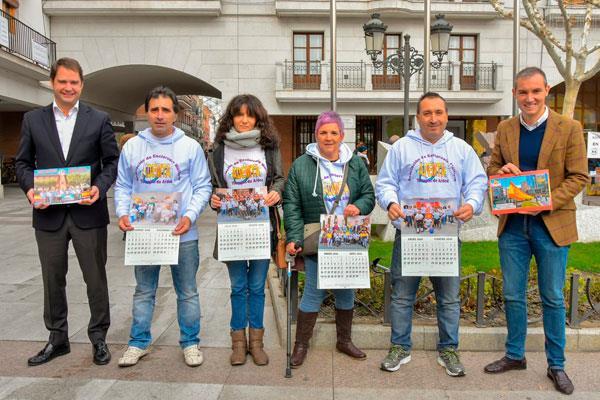 Un calendario solidario para combatir la esclerosis múltiple