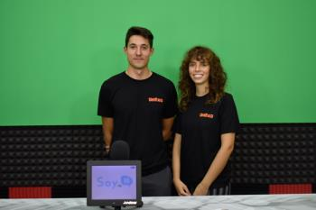 Alejandro y Carlota son dos estudiantes madrileños que se han lanzado a la conquista de la UniRaid 2020