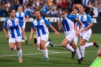 Vencieron al Rayo Vallecano en su primer partido en el Estadio Municipal de Butarque