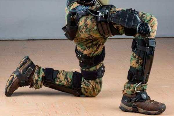 Un exoesqueleto para mitigar el cansancio en soldados