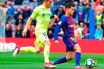 Los hombres de Bordalás realizan un gran partido y consiguen sumar un valioso punto en el Camp Nou