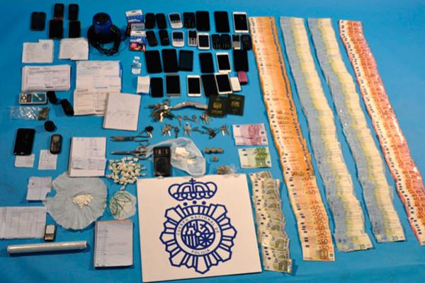 Con esta operación se ha logrado la erradicación de varios puntos negros de venta de droga del Sur de Madrid