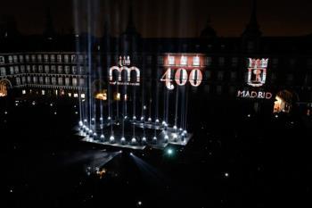 La proyección conmemorará los 400 años de la Plaza Mayor y tendrá lugar este fin de semana
