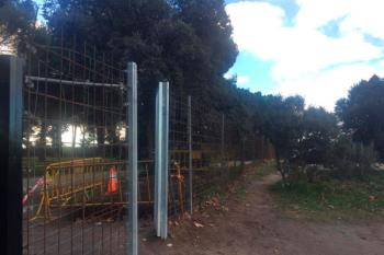 Majadahonda ha instalado esta infraestructura a lo largo de un kilómetro en la zona por la que se ha detectado que acceden los jabalíes
