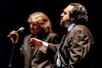 José Mercé y José Manuel Zapata interpretarán obras de Gardel acompañados de un quinteto de músicos, el próximo sábado 19 de mayo