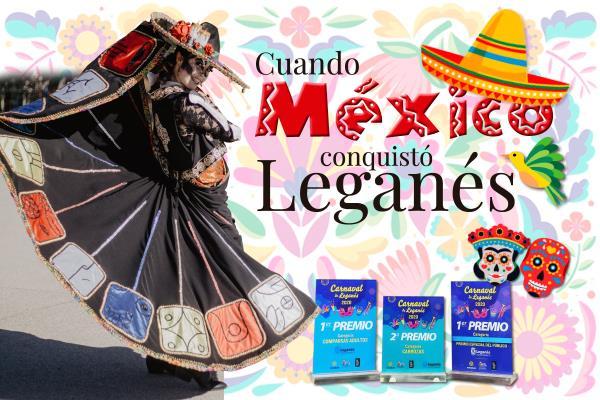 Cuando México conquistó Leganés: el CEIP Concepción Arenal, protagonista indiscutible del Carnaval