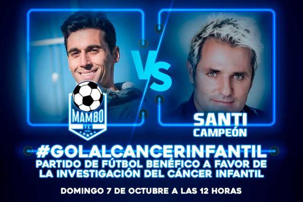 Un partido de fútbol para la investigación del cáncer infantil, con Santi Cañizares y Álvaro Arbeloa