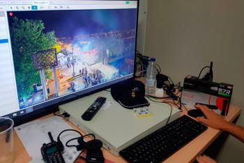 El dispositivo de alta resolución permite la óptima identificación de las personas que pudieran delinquir