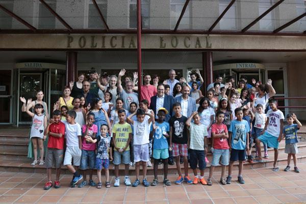 Un total de 33 niños y niñas saharauis pasarán el verano en Leganés