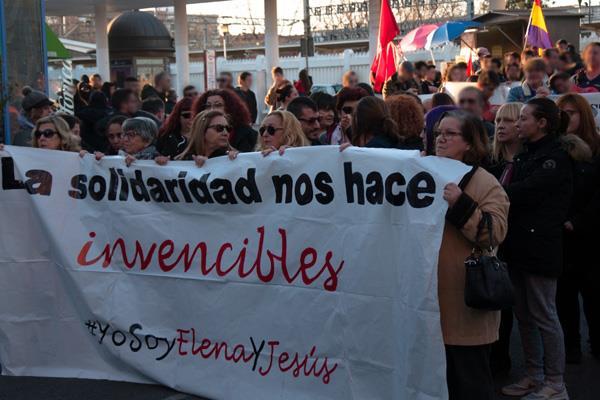 Los jóvenes fueron detenidos en el Centro Social 13 Rosas en 2014