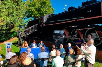 La iniciativa, fruto de un convenio entre el consistorio roceño y la Asociación de Amigos del Ferrocarril