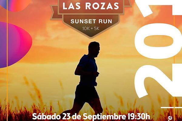 Disfruta del atardecer de Las Rozas, corriendo