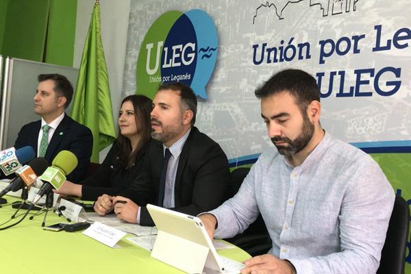 ULEG denuncia irregularidades en las contrataciones del Ayuntamiento de Leganés