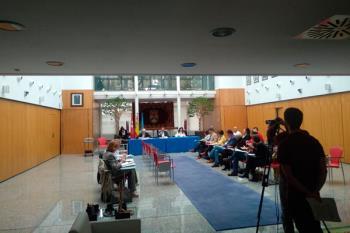 La formación explica su decisión de no acudir al Pleno a puerta cerrada del jueves 17 de octubre