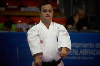 El subcampeón del mundo de Parakarate presentará su candidatura en la categoría de Héroe Local del Deporte