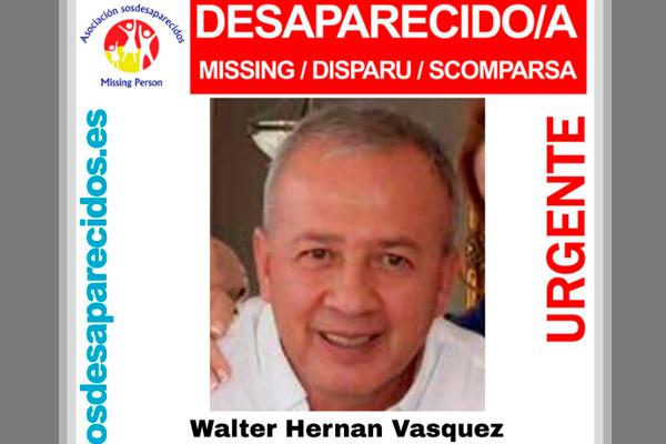 SOSDesaparecido ha lanzado recientemente la alerta y pide colaboración urgente