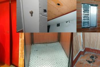 El Gobierno municipal ha explicado que el edificio pertenece al IVIMA, dependiente de la Comunidad de Madrid
