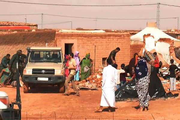Varios consistorios destinan ayudas a campamentos saharauis