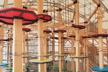 Es el primer parque vertical de este tipo en el Suroeste de Madrid