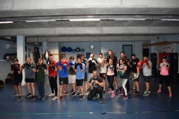 Conocemos, de la mano de Javier Nieto, el Club de Boxeo del Centro Acuático y Deportivo El Galeón de Moraleja de Enmedio