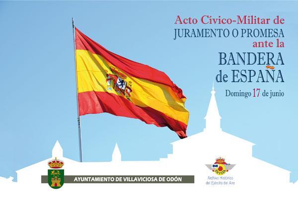 Villaviciosa celebrará su primer juramento ante la bandera de España