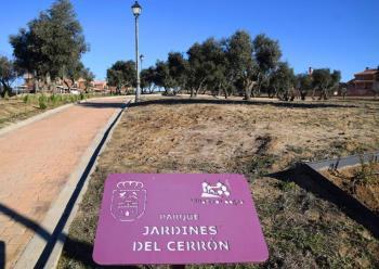 'Los jardines de El Cerrón' ya están abiertos al público y cuenta con 17.000 metros cuadrados