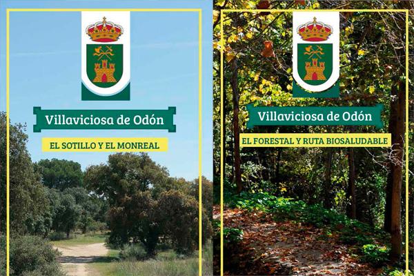 Pensadas para realizar rutas a pie o en bicicleta por sendas del municipio
