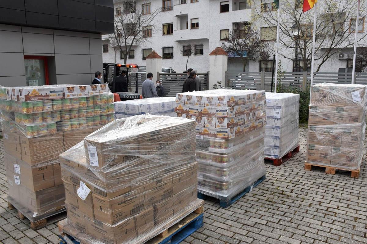 El Centro Municipal de Alimentos ha recibido un total de 5.700 kilos de productos procedentes del Fondo Social Europeo