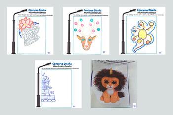 Ya está abierta la votación para elegir qué dibujos de los niños se convertirán en luces de Navidad