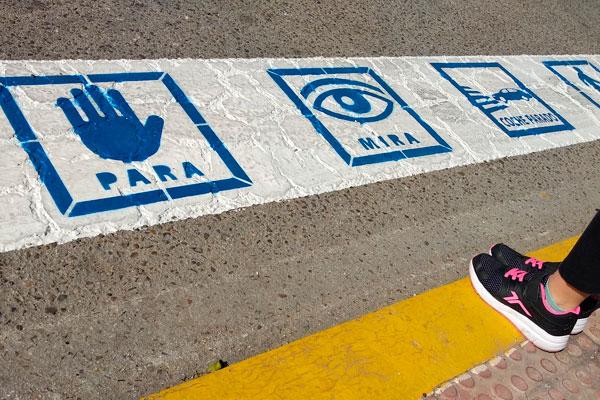 La formación local ha presentado una moción en el Pleno para mejorar la seguridad de los peatones