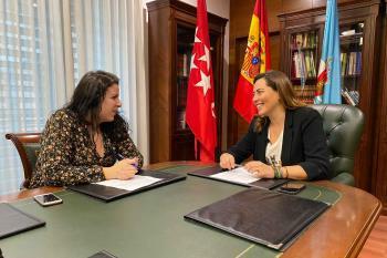 Ana Millán, durante la entrevista concedida a Soyde.