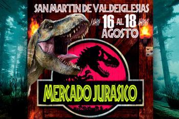 Los dinousarios invaden San Martín de Valdeiglesias del 16 al 18 de agosto