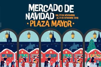 El Mercado de Navidad de la Plaza Mayor estará disponible desde este sábado