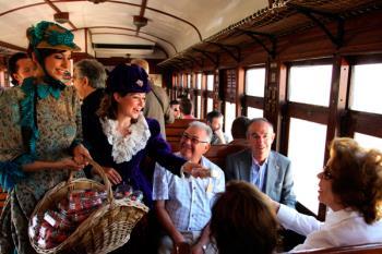 Los trenes realizarán sus míticas y bellas rutas con destino Aranjuez y El Escorial respectivamente