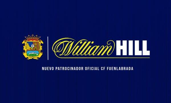 William Hill, nuevo patrocinador del CF Fuenlabrada