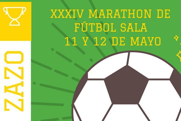 XXXIV Maratón Fútbol Sala 'Emilio Zazo'