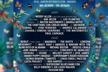 La tercera edición del Festival (20 junio-31 julio) cuenta con nombres como el de Woody Allen, Ana Belén o Andrés Calamaro
