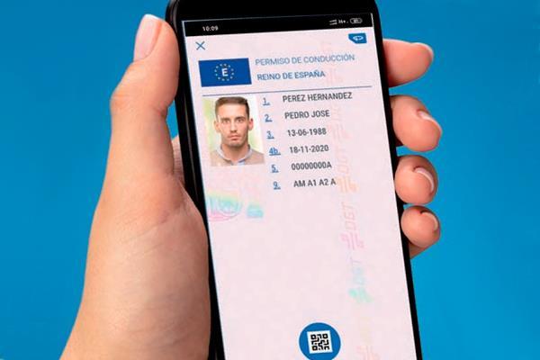 Ya podemos llevar el carnet de conducir en nuestro teléfono móvil