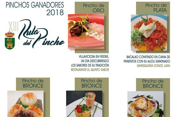 El Restaurante El Quinto Sabor vuelve a alzarse con el Pincho de Oro