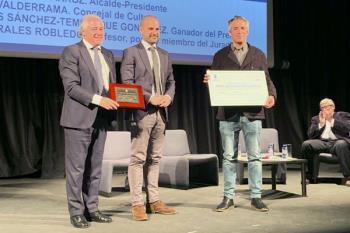 El majariego Ignacio Sánchez-Tembleque obtuvo el galardón por su poemario