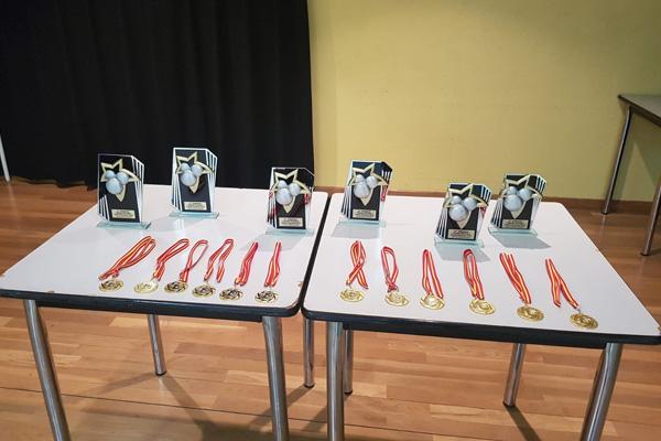 El alcalde entregó los premios ayer por la tarde